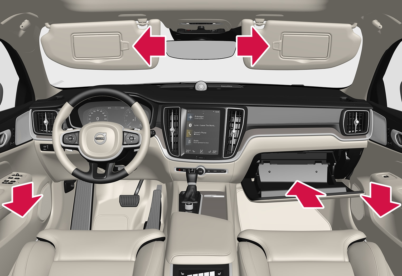 P5-1817-S/V60-Interior storage, front seat