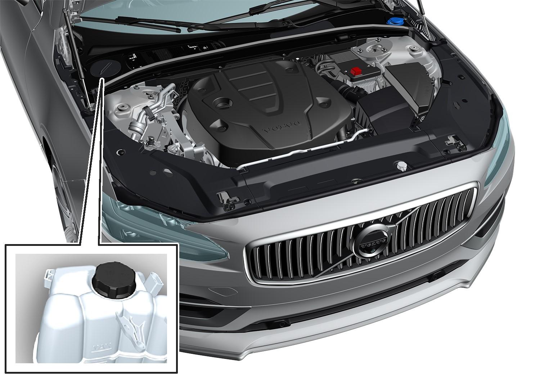 P5-1617-S90/V90 Overview engine coolant