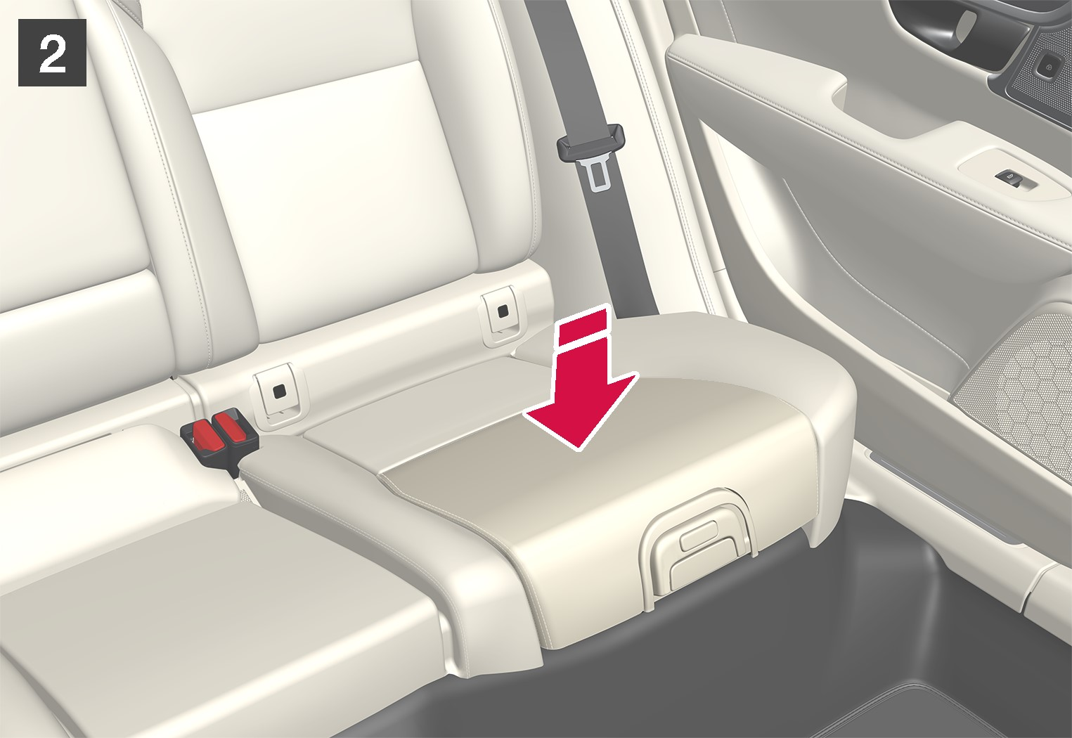 P5-1617-S90/V90–Safety–Integrated booster cushion fold 2