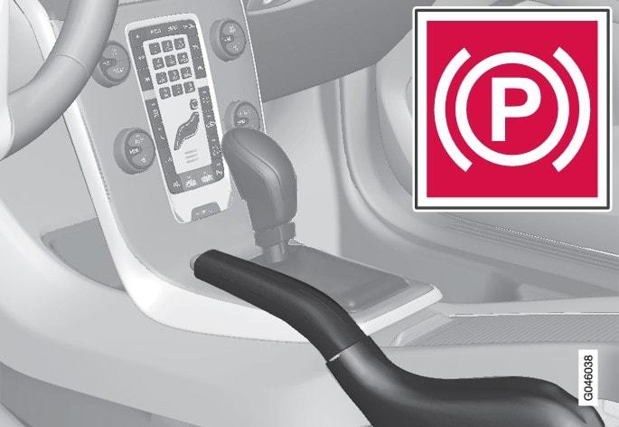 Combined instrument panel warning symbol.