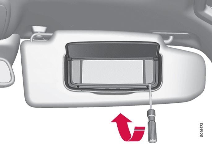 P3-1220-XC60 Lighting make-up mirror