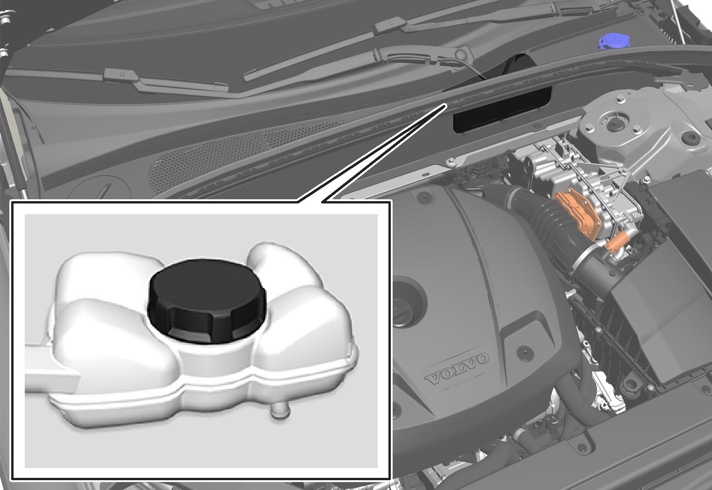 P5-1717-XC60-Hybrid battery refill coolant