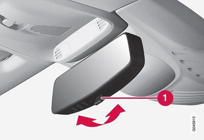 P4-1220-Y55X Interior rearview mirror