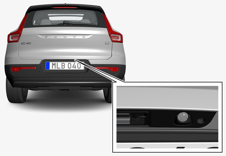 P6-21w24-XC40/XC40H/XC40BEV-ParkingCam-Rear