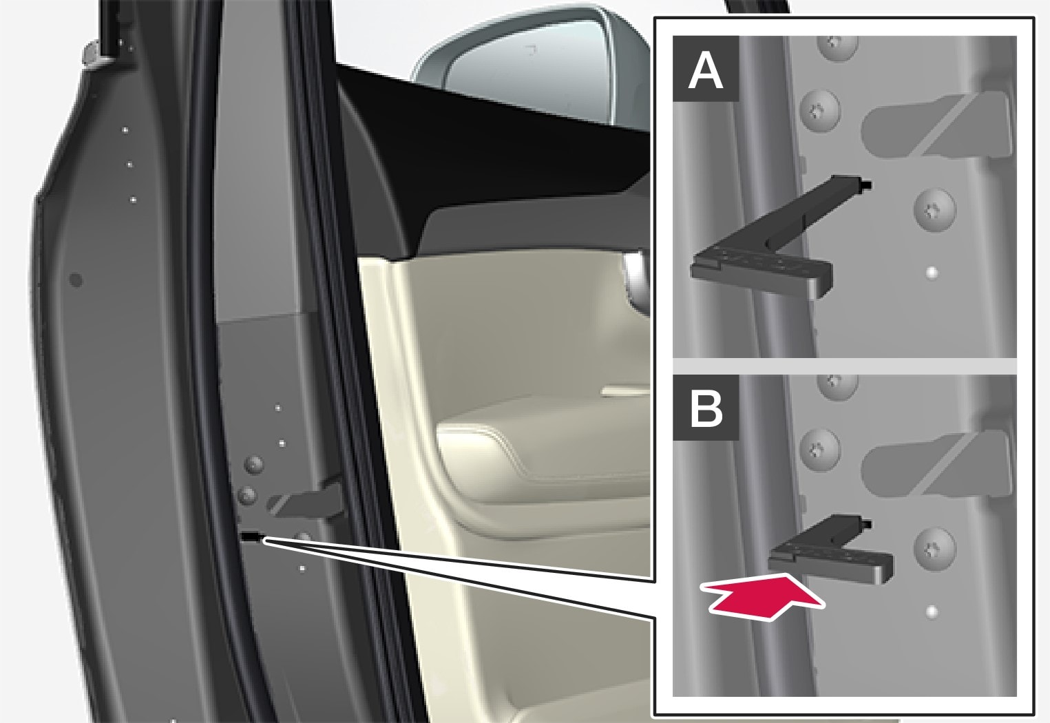 P5-1507-XC90- Manual locking
