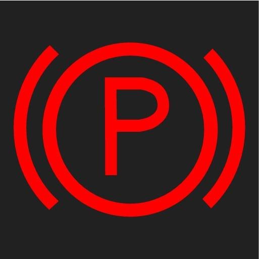 P5-1507 Symbol Park brake
