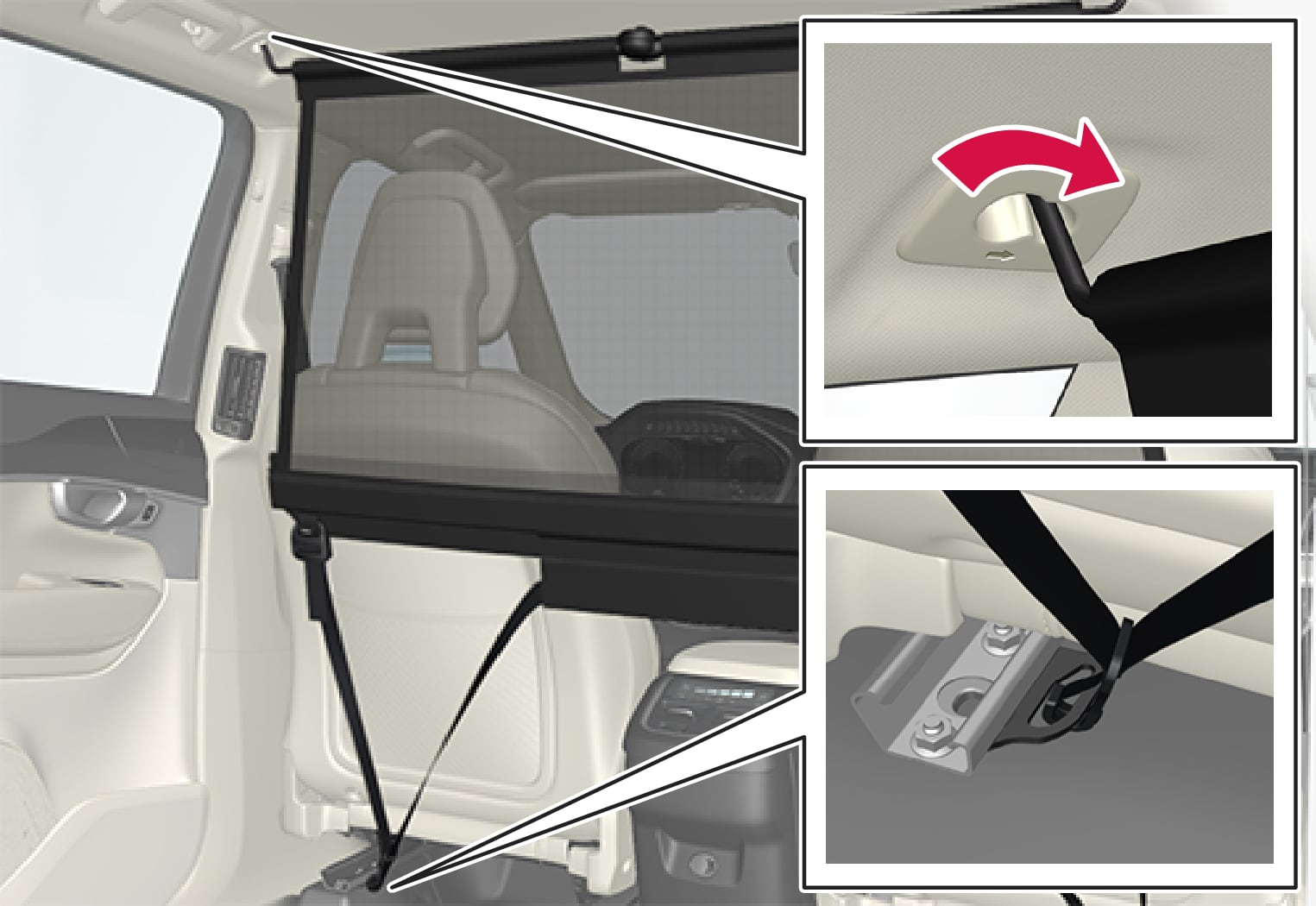 P5-1507 Cargo net - front mounting