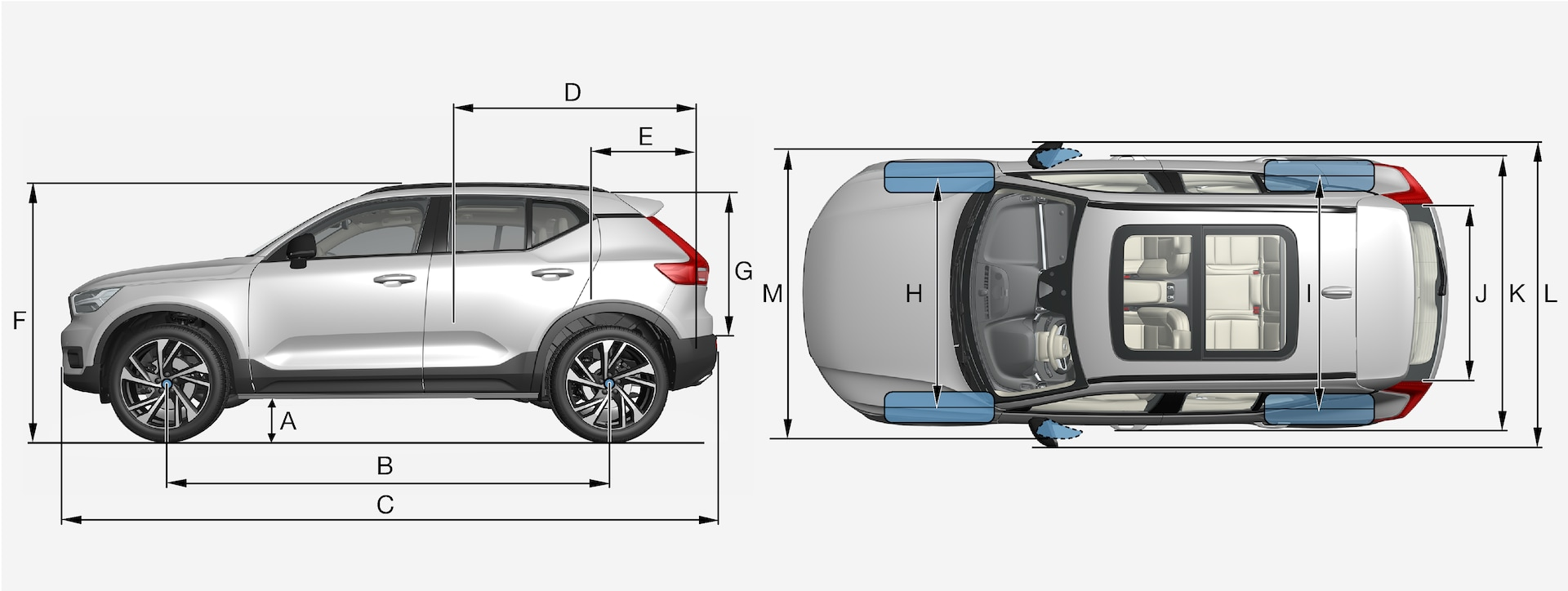 P6-1746-XC40-Overview with measurements