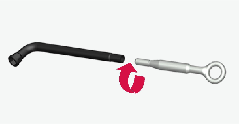 P5-1507-tool for wheel screws