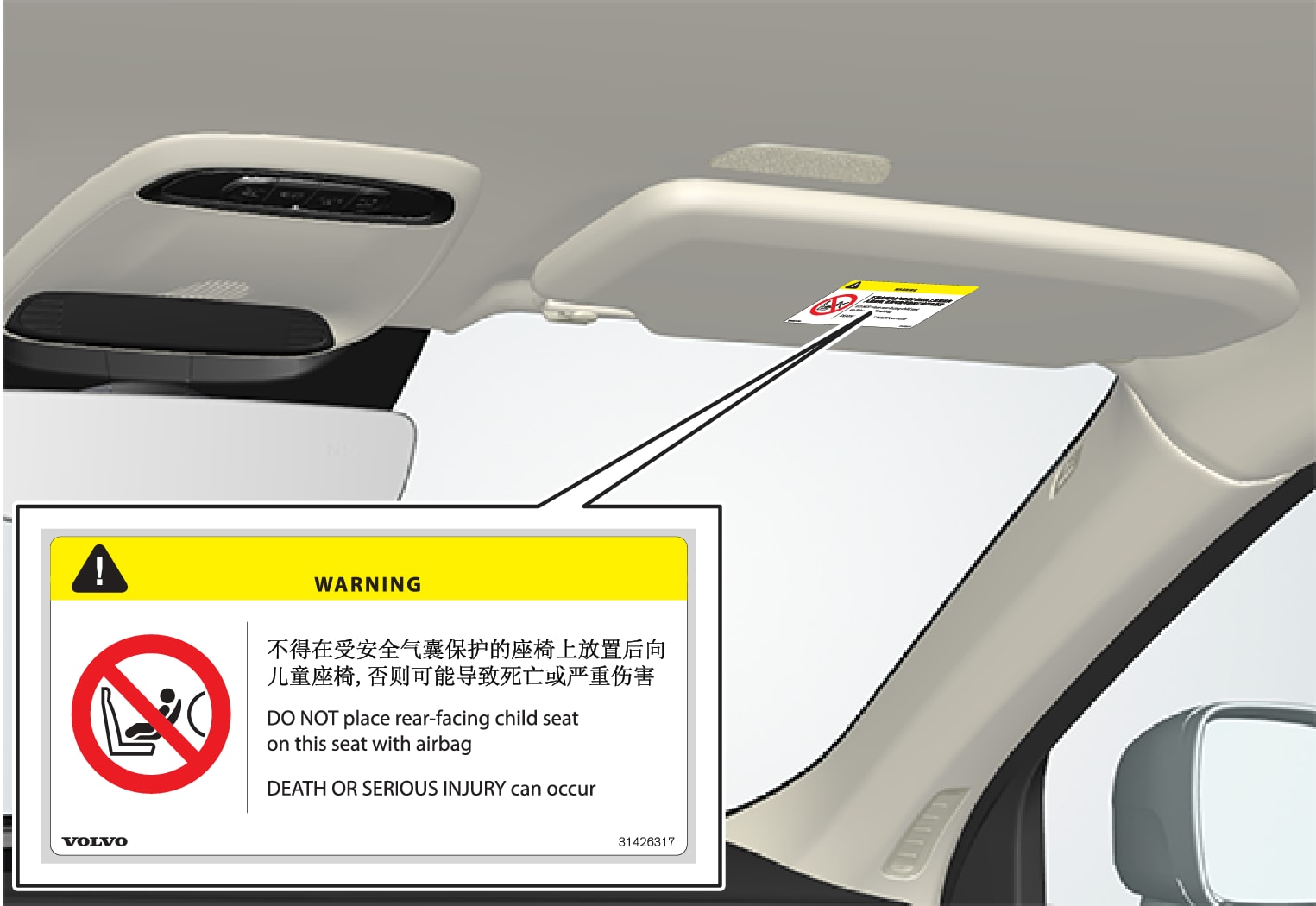 P5-1507–Safety–Airbag decal placement China 1