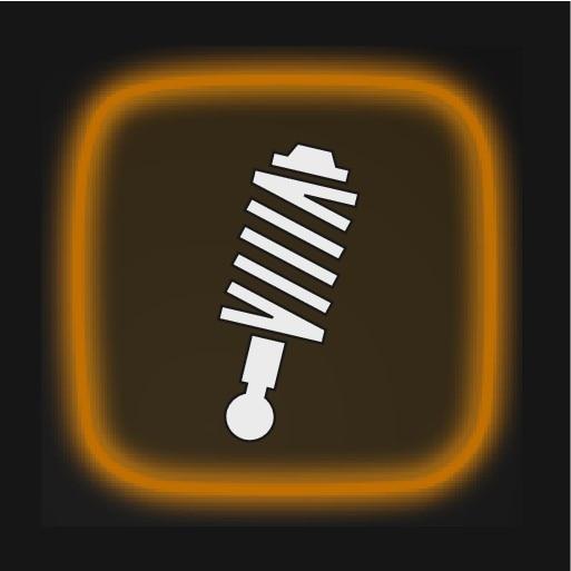 P6-1746-XC40-DIM soul symbol suspension amber lining