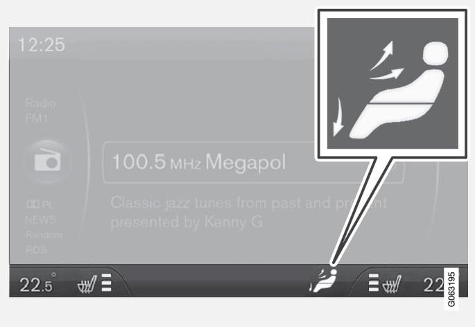 P3-1717-S60/V60 Luftdistribution i display