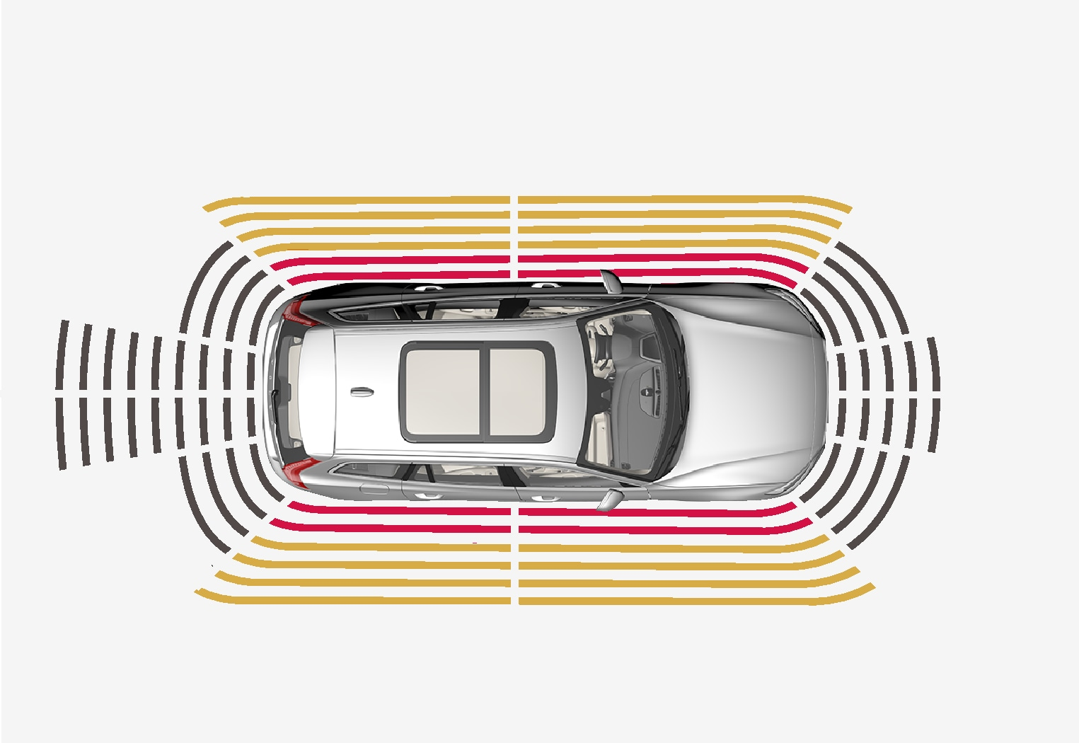 P5+6-1817 -Park Assist System-Sectors