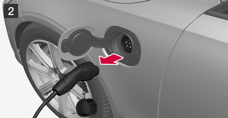 P5P6-2046-!XC90H-Plug out cable to car (EU+CH)