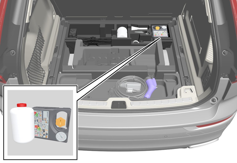 P5-1717-XC60-Temporary mobility kit,storage