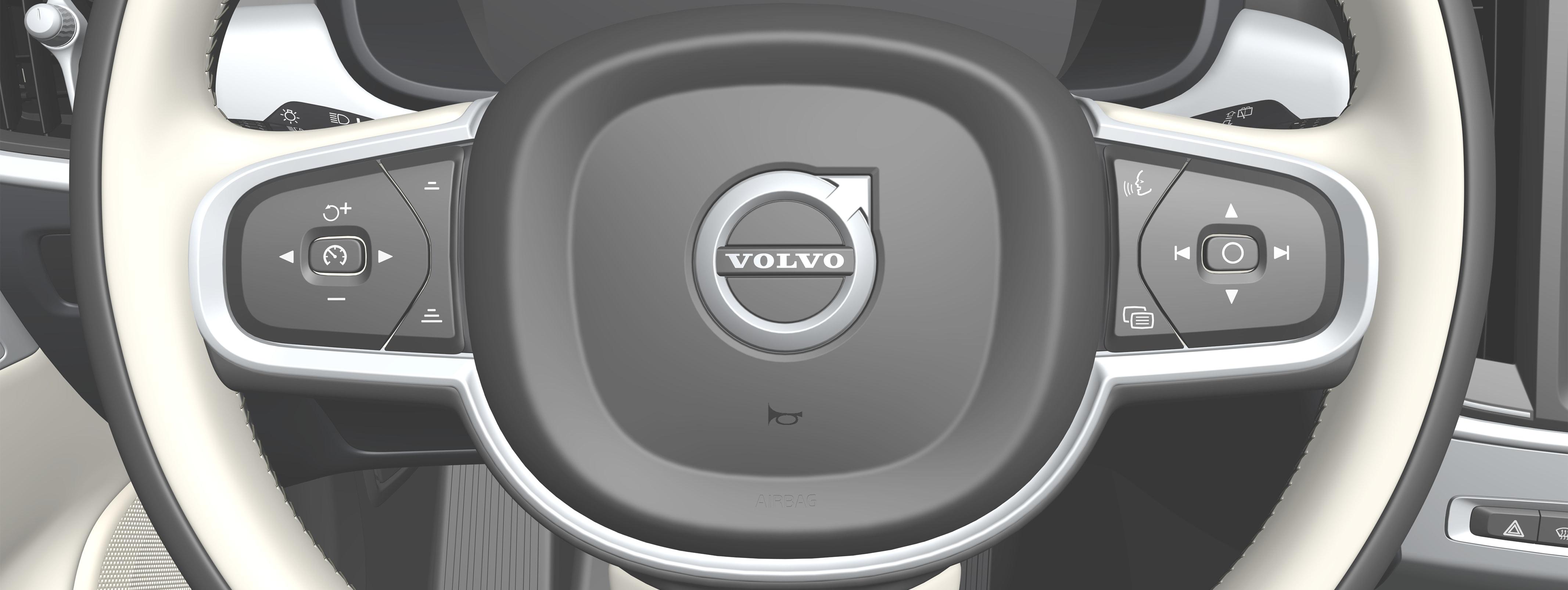 P5-1817-S90-V90-Horn, steering wheel