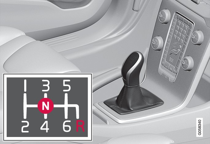 P4-1617-V40-manual gearbox shifter