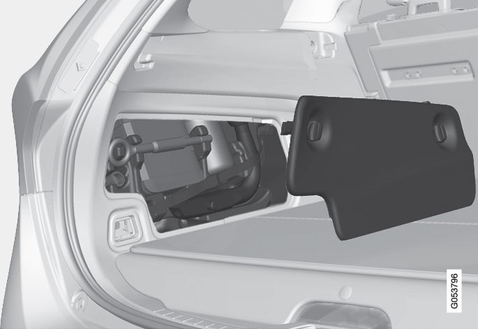 p3-1517-V60-Bi Fuel- tools in luggage compartment sides