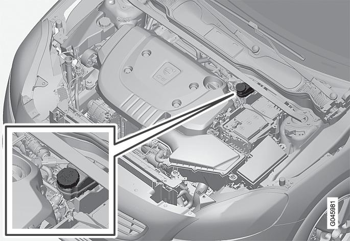 P4-1220-Y55X- Brake fluid, refilling