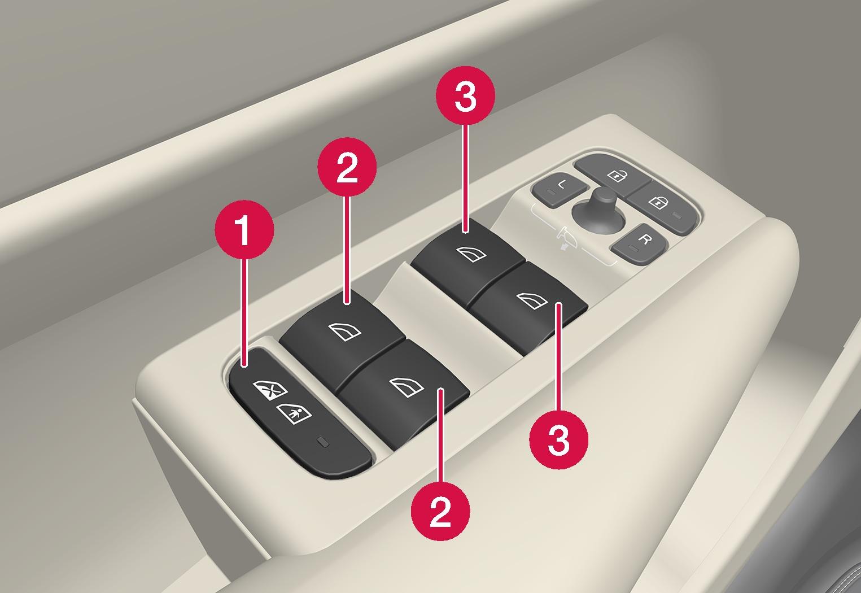 P6-1746-XC40-Driver door control panel