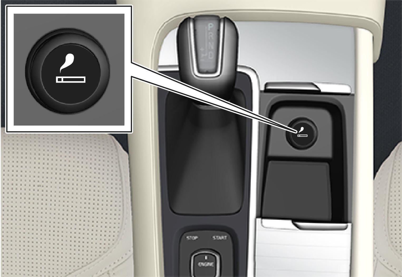 P5-1507–Interior–Cigarette lighter console front