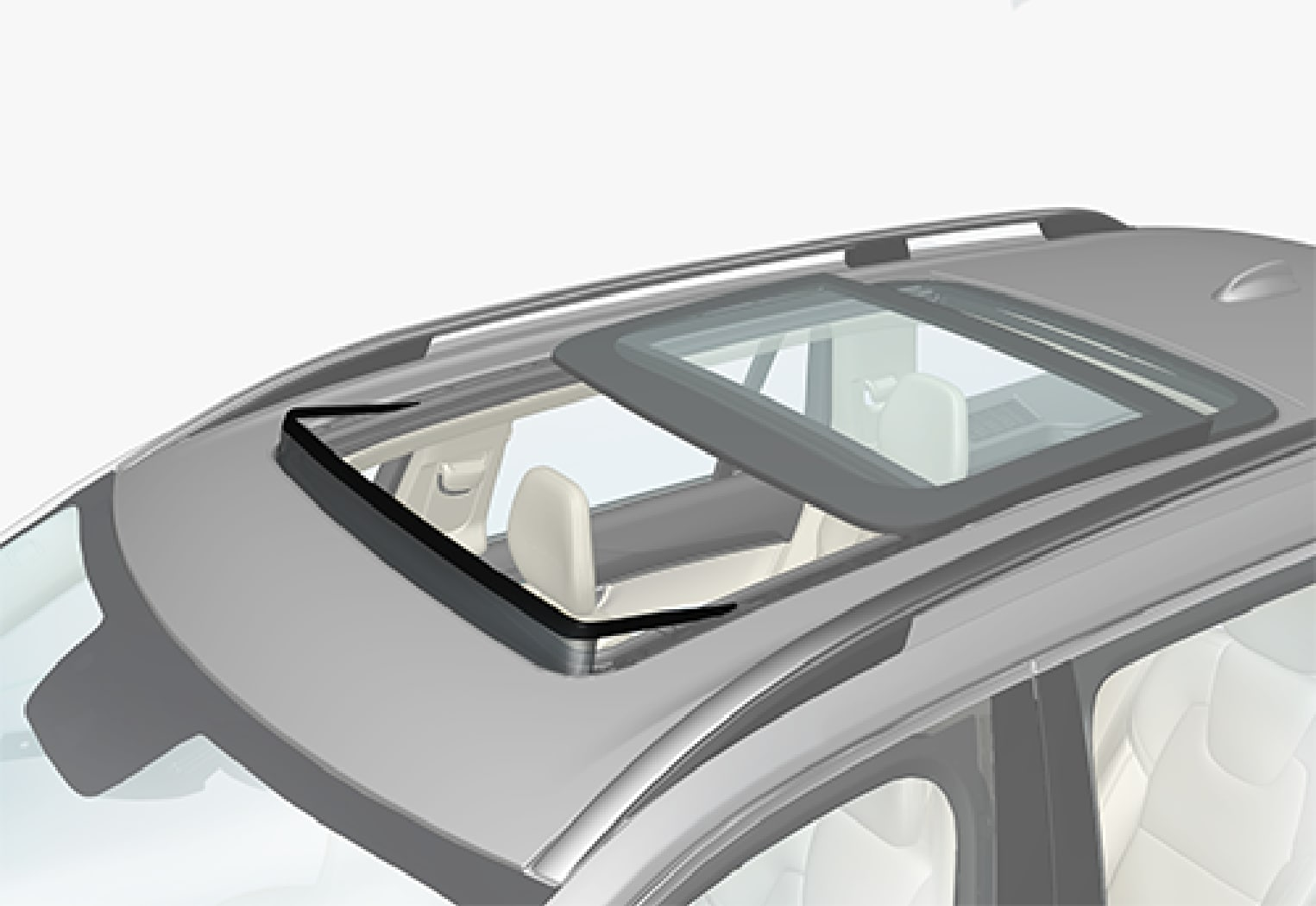 P5-1507 Panoramic roof wind deflector