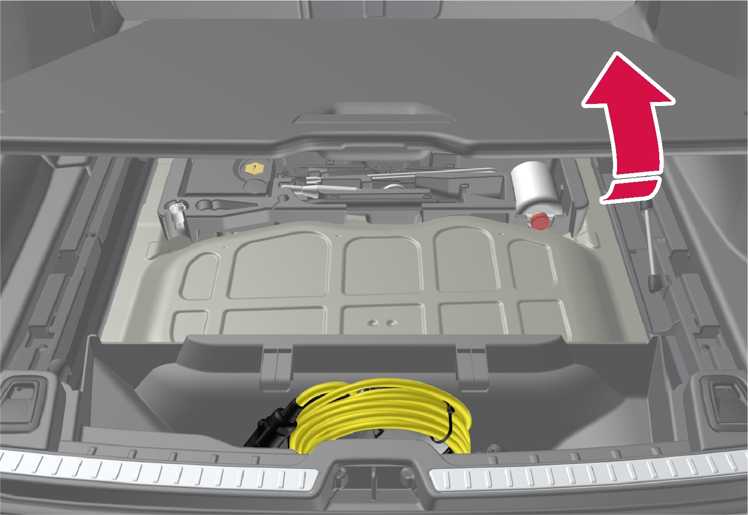 P5-1817-V90H Hybrid cable placement in car (EU+CH)