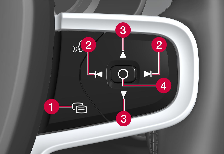 P6-2037-XC40BEV-Right steering wheel switch
