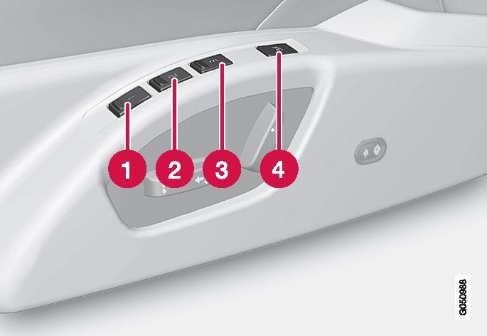 P3-1420-Säte med minnesfunktion