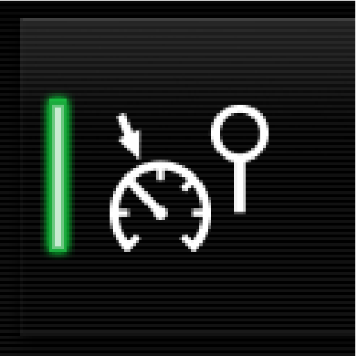 P5-S90-1646-Automativ Speed Limiter button symbol