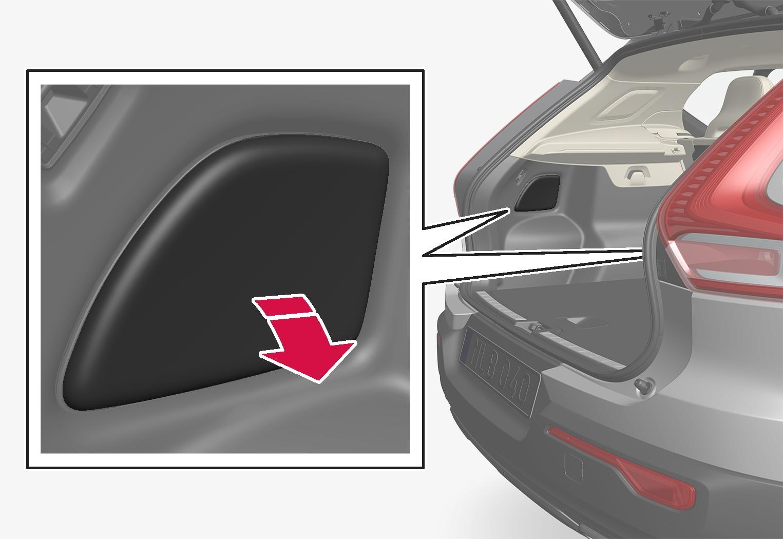 P6-1746-XC40-Remove rear light panel