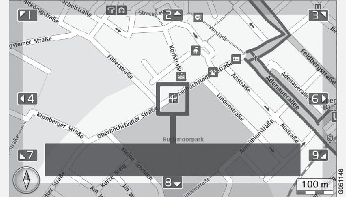 P3/P4-1420-IMAP-menu-Scroll view over POI