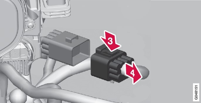 P3-1320-S60/V60/V60H Headlight removal 3