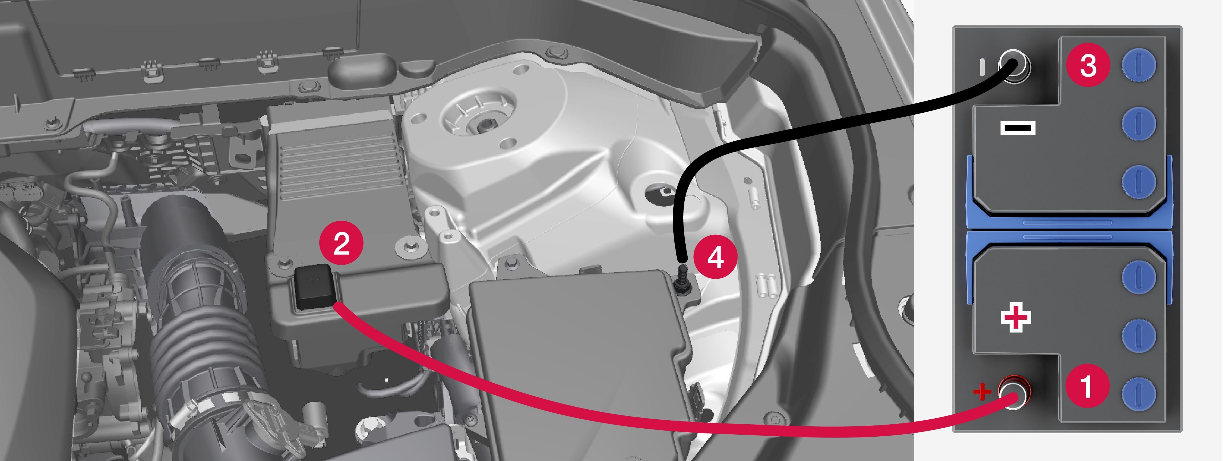 P5-1507-Connect jumper cables