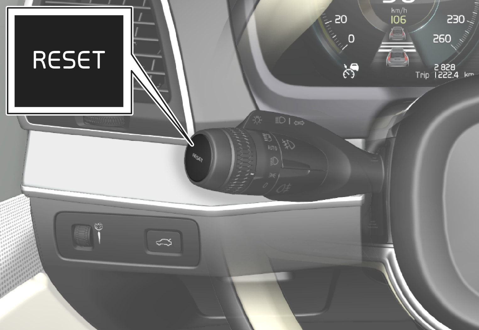 P5-1507-reset button left stalk on steering wheel