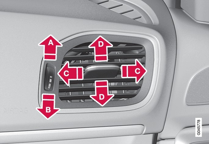 P4-1220-Y55X-Air vents in dashboard