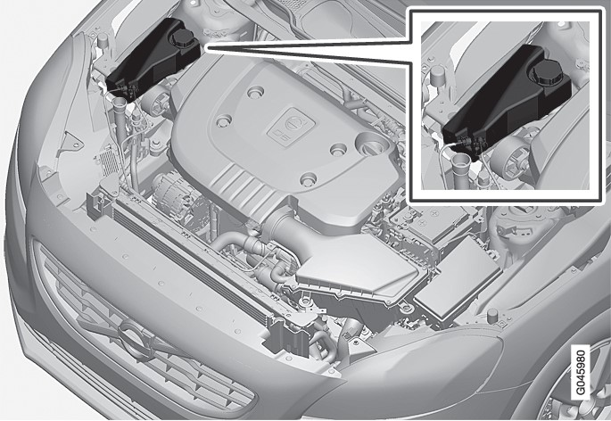 P4-1220-Coolant, level and refill