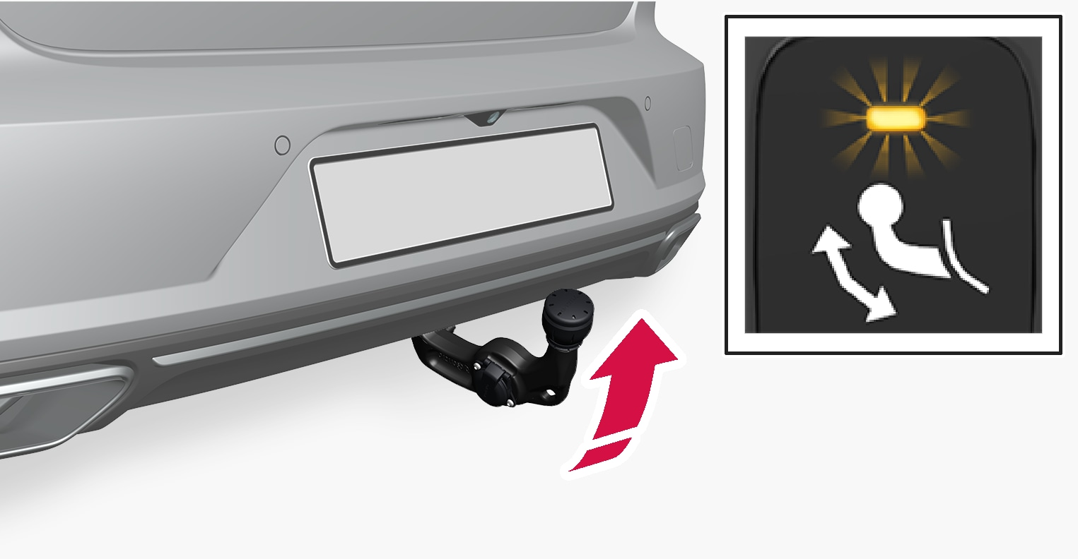 P5-1617-S90-V90-Swivable towbar and switch foldout step 2