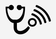 P5–1507–Symbol in status bar–Remote diagnostics active