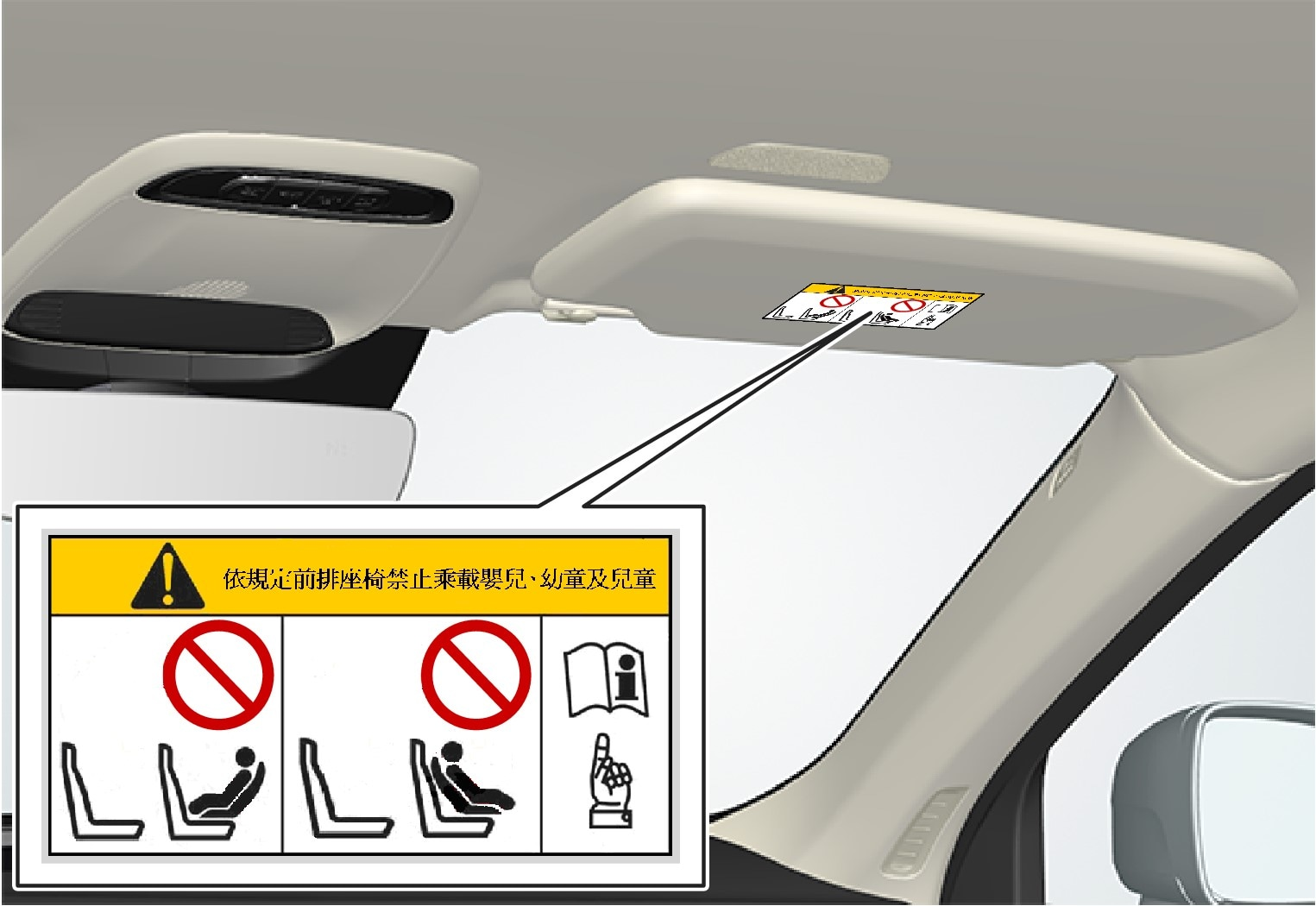 P5-1507–Safety–Child seat decal placement Taiwan