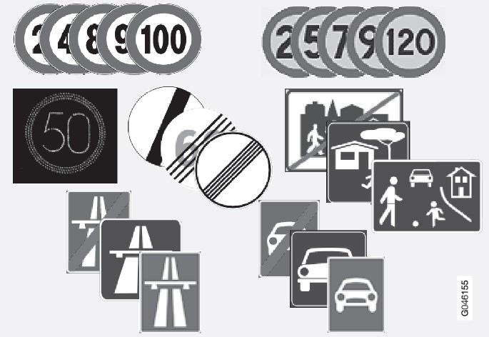 P4/P3-1220-RSI Läsbara trafikskyltar