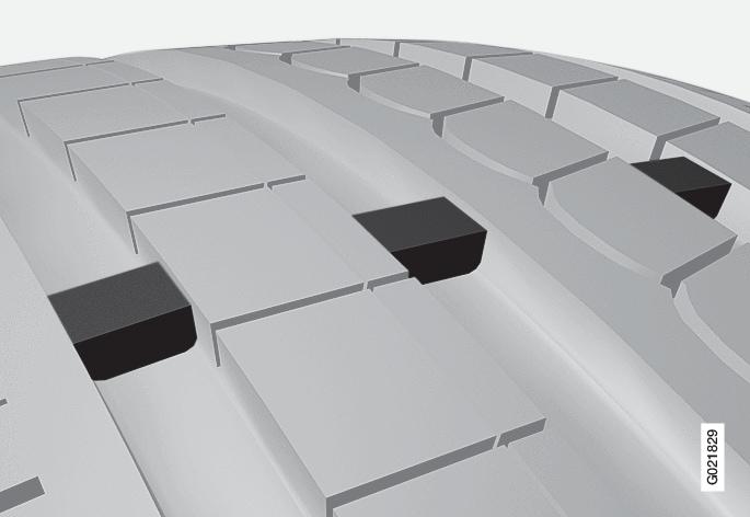 p3007 däck med slitagevarnare