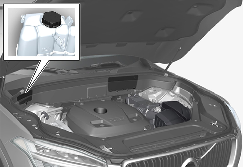 P5-1617-XC90/XC90H Overview engine coolant