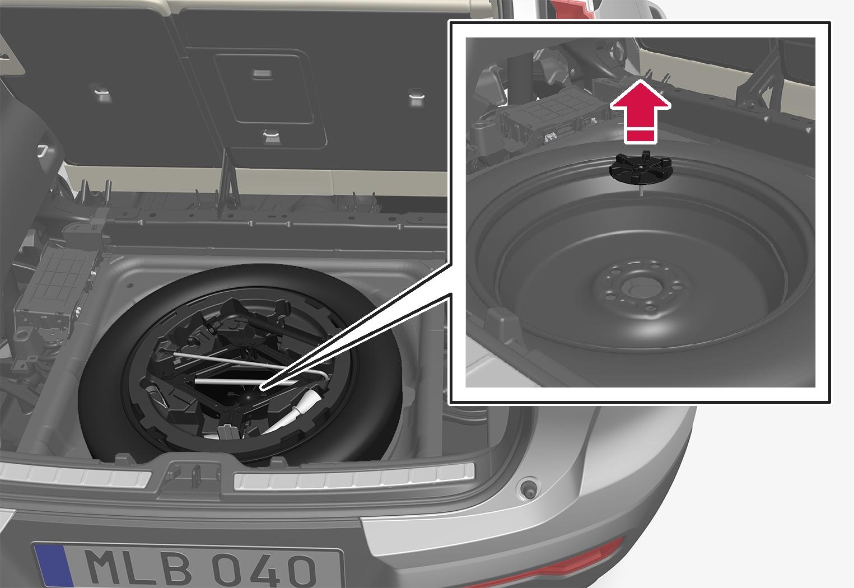 P6-1746-XC40-Spare tyre
