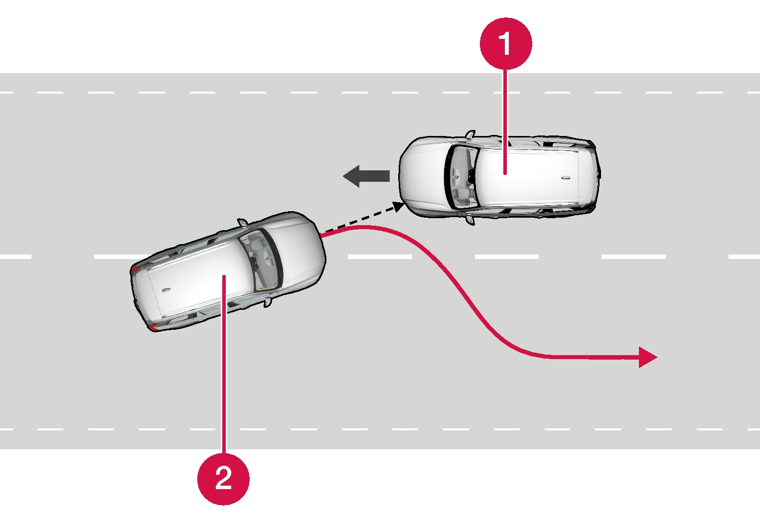 P5-1717-City Safety, avoid collision with  oncoming traffic