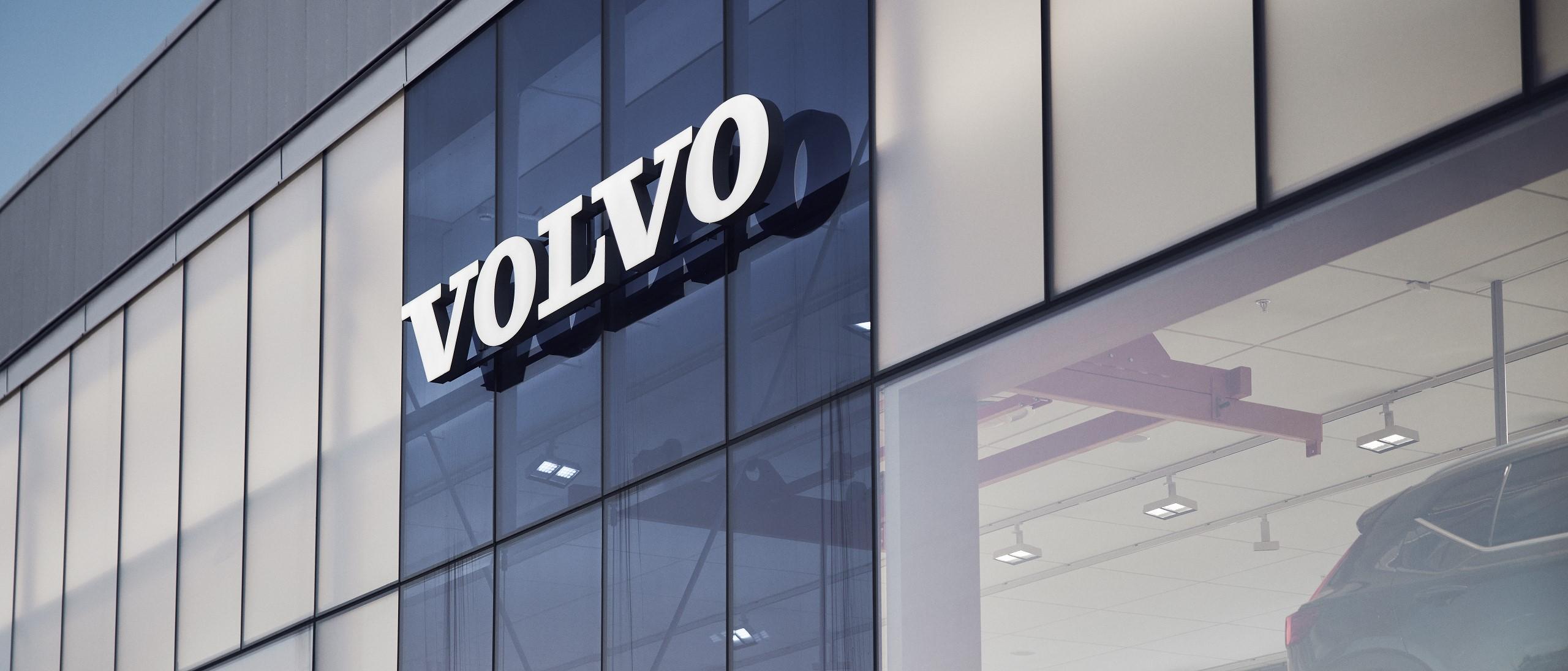 Volvocars Dealership signage