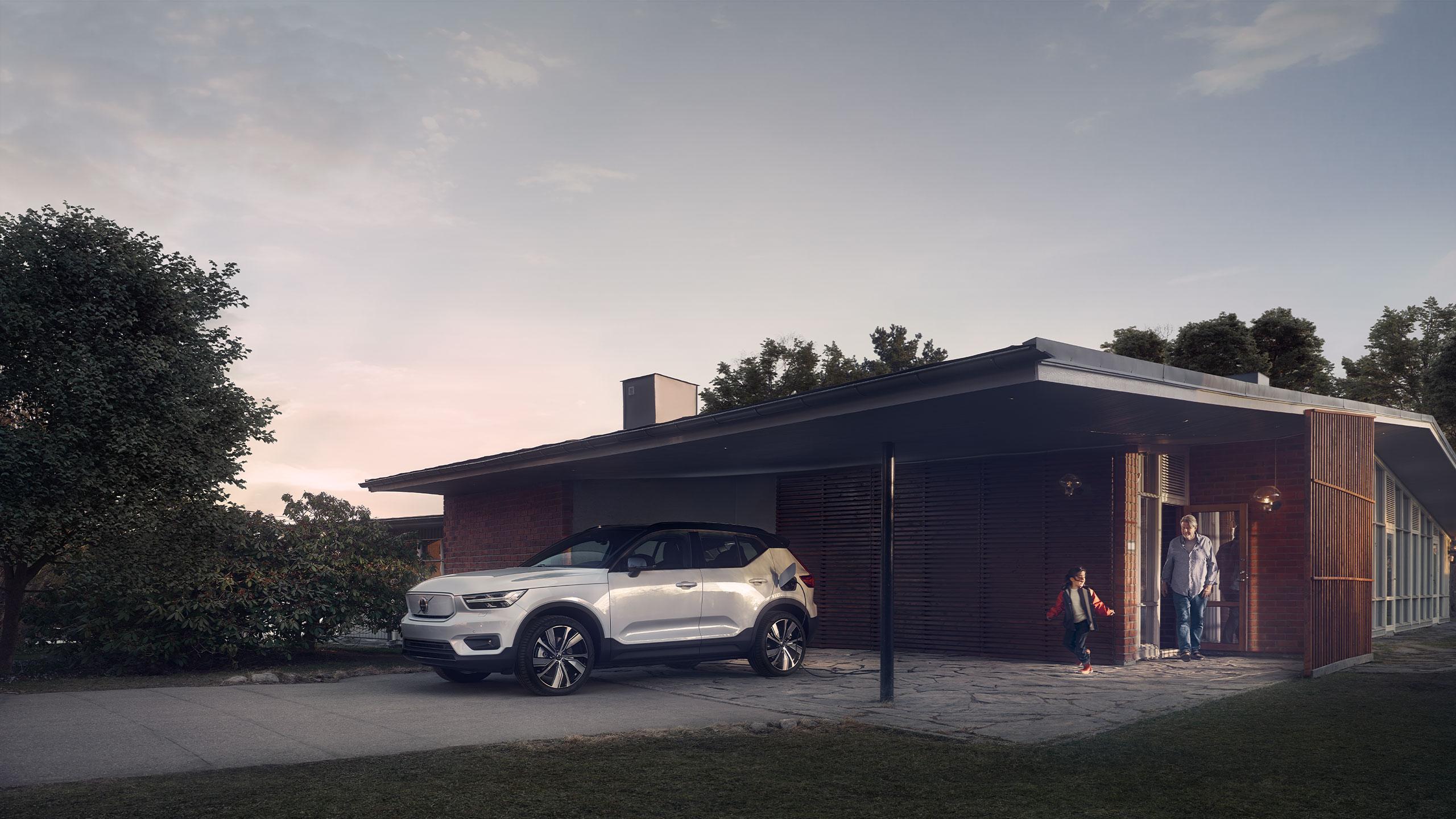 Die Zukunft ist elektrisch mit dem Volvo XC40 Recharge Pure Electric.