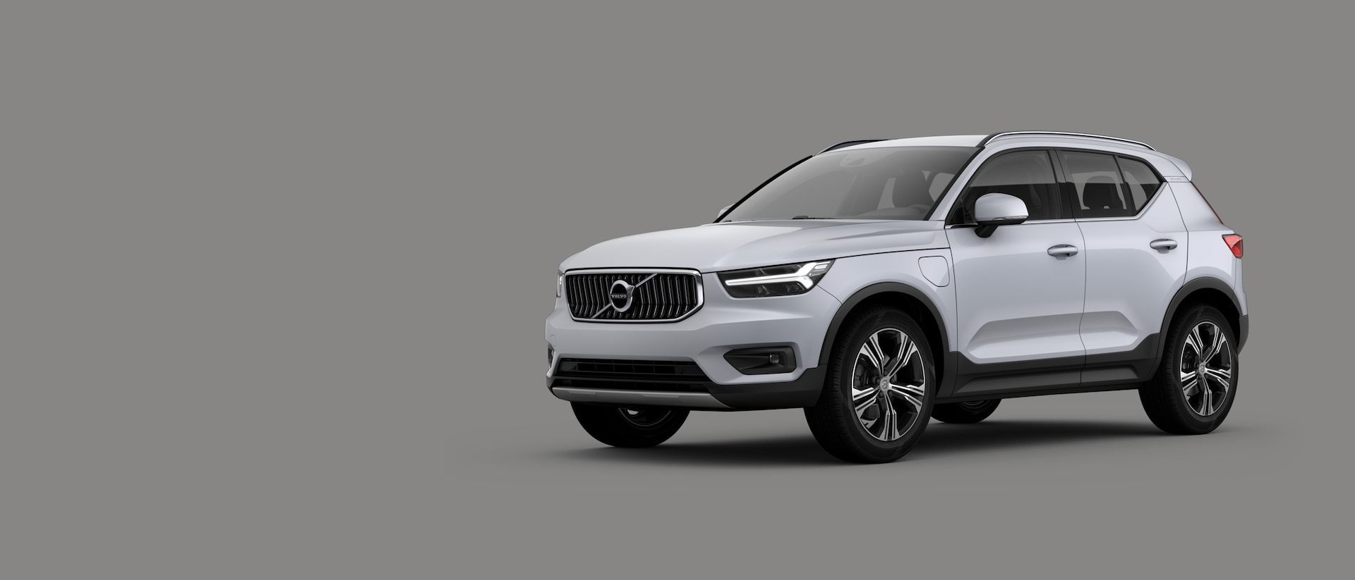 Pohled na vůz Volvo XC40 Recharge