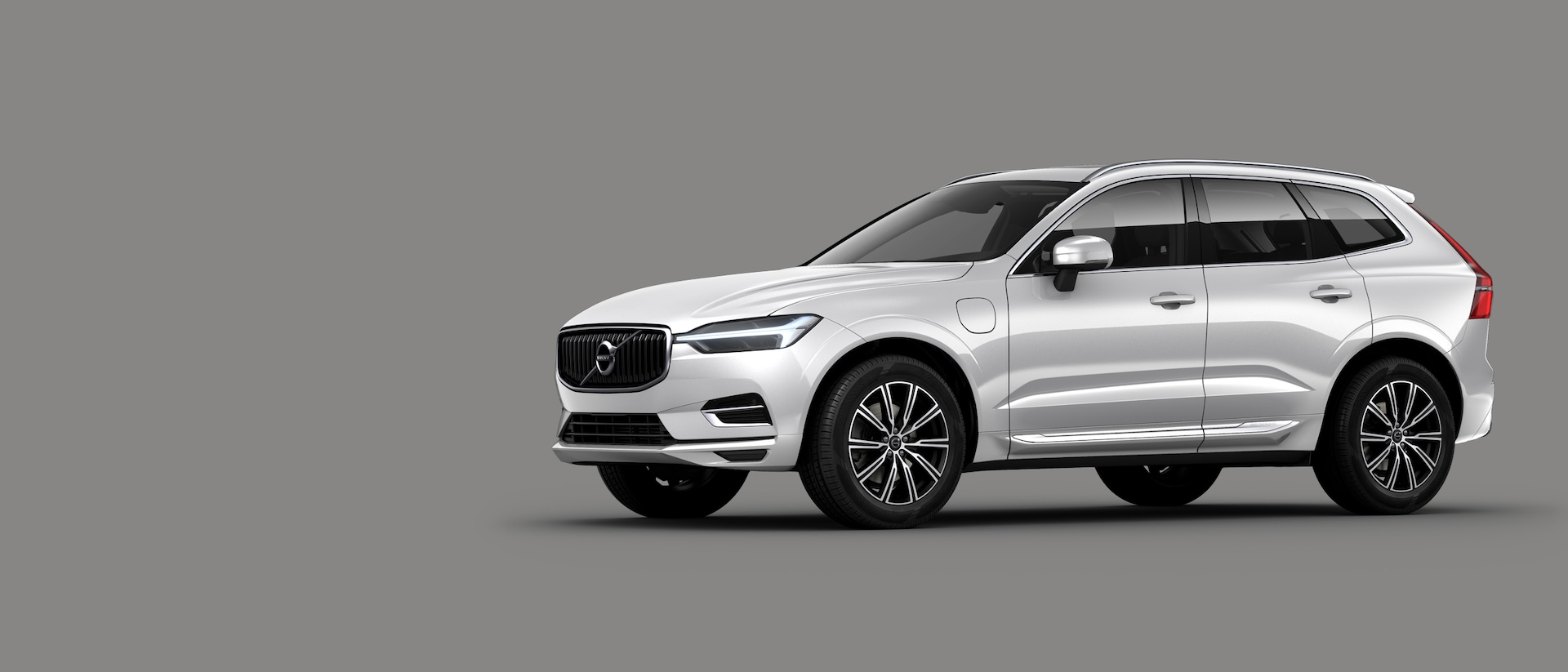 Pohled na vůz Volvo XC60 Recharge