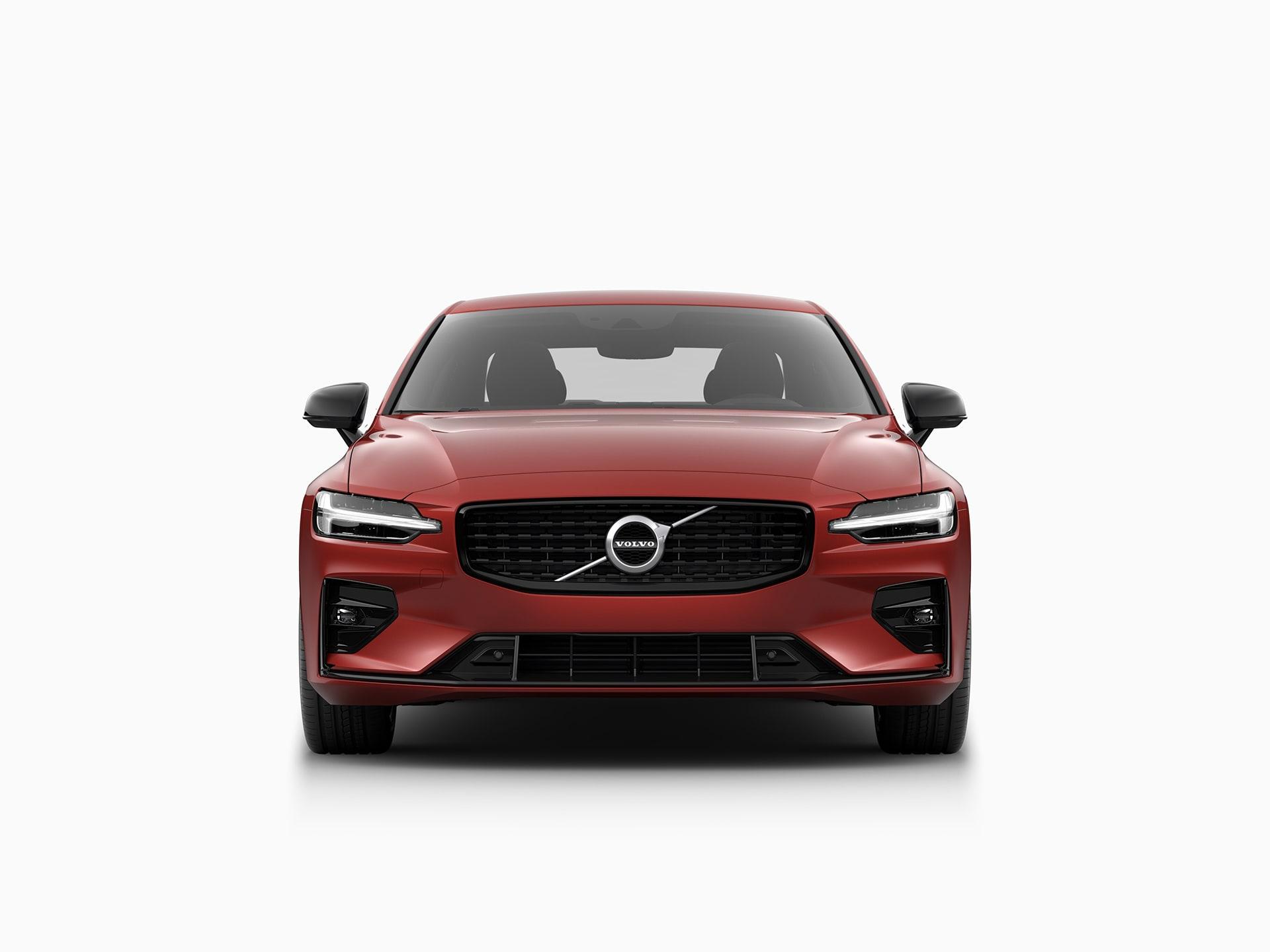 Die Frontansicht des Volvo S60.